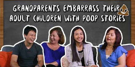 Grandparents Embarrass Their Adult Children With Poop Stories